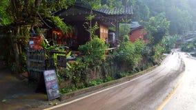 Barra y resturant en Mae KumPong Ville Fotos de archivo