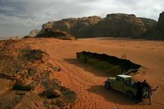 Barraca beduína Fotografia de Stock