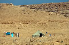 Barraca beduína, Marrocos Imagem de Stock