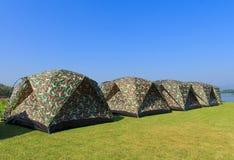 Barraca de acampamento Imagem de Stock
