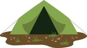 Barraca de acampamento Imagens de Stock Royalty Free