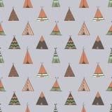 Barraca do verão do nativo americano da tenda Imagens de Stock Royalty Free