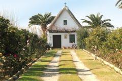 Barraca house  Comunidad Valenciana, Spain. Stock Image