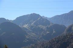 Barraca nas montanhas Foto de Stock