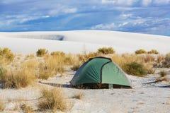 Barraca no deserto fotografia de stock