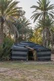Barraca no deserto de Sahara Imagem de Stock