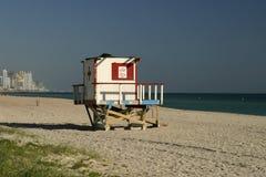 Barraca vaga do Lifeguard Foto de Stock Royalty Free
