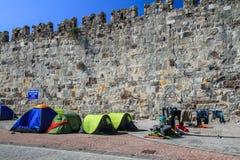 Barracas do refugiado foto de stock royalty free