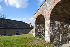 Barrack and the inner citizens fortification. The citizen fortification barrack and the inner citizen fortification was construeted in the 1680s. Its purpose was Stock Photo