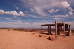 Barrack near Monument Valley Stock Photo