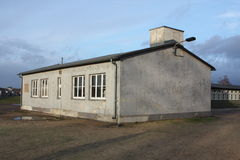Barracks. A military building in a prison camp stock photography