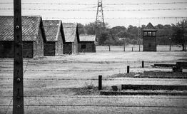 Auschwitz-Birkenau concentration camp Royalty Free Stock Image