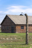 Barracks in Auschwitz concentration camp Stock Photography