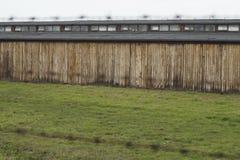 Barracks Birkenau stock images