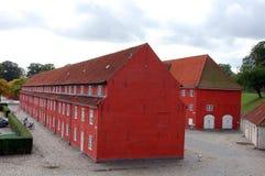 Barracks at the fortress Castellet. Copenhagen, Denmark Stock Photos