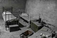 Barracks for the residenc royalty free stock photos