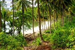 Barracuda beach on Kadidiri island. Indonesia Royalty Free Stock Photography