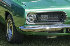 Barracuda front end Stock Image