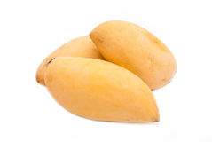 Barracuda mango best tropical fruit in Thailand Stock Photos