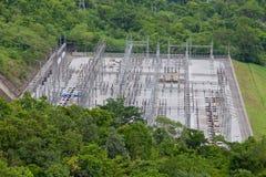 Barrage électrique de pouvoir hydraulique Photographie stock libre de droits