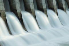Barrage électrique hydraulique c1 de Kananaskis Photographie stock