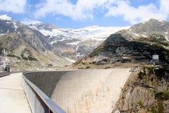 Barrage. Kölnbreinsperre - Barrage Maltatal in Kärnten, Carinthia, Austria Royalty Free Stock Images