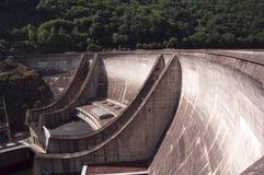 Barrage. Dam in france, hydro energy stock photos