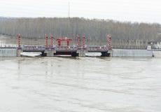 barrage Image stock