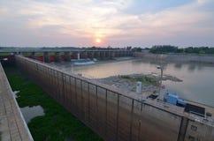 barrage Photo libre de droits