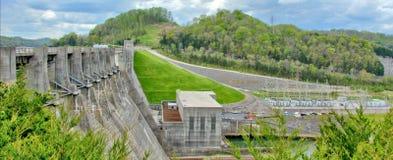 Barrage central de colline Images libres de droits