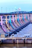 Barrage coloré Image stock