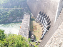 Barrage concret Photos stock