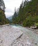 Barrage of a creek Royalty Free Stock Photo