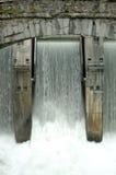 Barrage d'énergie hydroélectrique Photos libres de droits