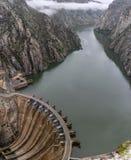 Barrage d'Aldeadavila en Espagne photos stock