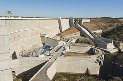 Barrage d'Alqueva Image stock