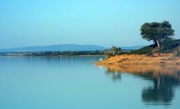 Barrage d'Alqueva Portugal. Images libres de droits