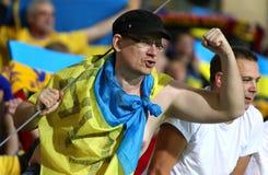 Barrage 2016 d'EURO de l'UEFA pour la finale : La Slovénie v Ukraine Photographie stock