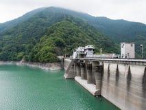 Barrage d'Ikawa Image stock