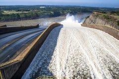 Barrage d'Itaipu photographie stock libre de droits
