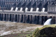 Barrage d'Itaipu Image stock