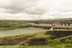 Barrage d'Itaipu Photo stock