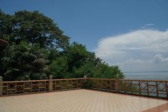 Barrage d'Ubonrat, Khonkaen, Thaïlande photographie stock libre de droits