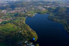 Barrage dans la ville de Brno Photos libres de droits