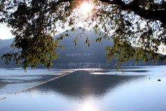 Barrage de Bhumibol Photographie stock libre de droits