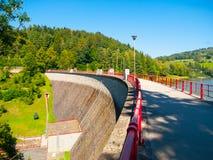 Barrage de Bystricka près de Vsetin en Moravie, République Tchèque Photos libres de droits