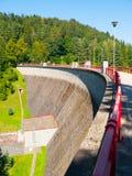 Barrage de Bystricka près de Vsetin en Moravie, République Tchèque Photographie stock