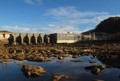 Barrage de Chilhowee sur petit Tennessee River Image stock