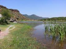 Barrage de Dhoketahlian photographie stock libre de droits