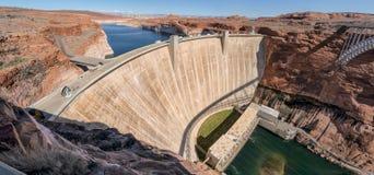 Barrage de gorge de gorge, page, Arizona Image libre de droits